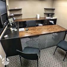 Modern Reclaimed Office Desk Custom Douglas Fir Wood N On Beautiful Ideas
