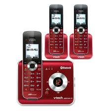 3 handset connect to cell answering system with caller id call waiting