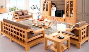 wooden sofa designs. Modren Sofa Wooden Sofa Set For Small Living Room Wood Designs Pictures Org Intended S
