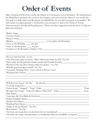 005 Indian Wedding Itinerary Template Free Ideas Impressive