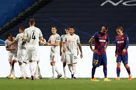 Bayern passeia sobre o Barcelona e avança à semi com goleada histórica