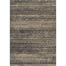 couristan easton capella black grey 9 ft x 12 ft area rug