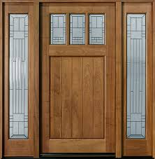 mahogany front door. Mahogany Solid Wood Front Entry Door - Single With 2 Sidelites V