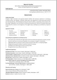 weblogic admin resume sample cipanewsletter cover letter sample material handler resume warehouse material