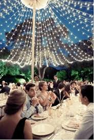 Outdoor wedding lighting decoration ideas Celebrations Fairylight Canopy Outdoor Entertaining Wedding Wedding Decorations Outdoor Wedding Decorations The Knot Fairylight Canopy Outdoor Entertaining Wedding Wedding