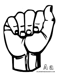 Free Printable Abc Sign Language Chart Jumbo Asl Alphabet Printables Plus Other Free Printable