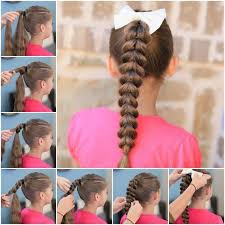 view in gallery easy pull through braid hairstyle