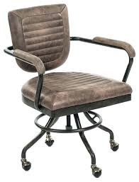 Industrial office chair Industrial Conference Room Decoration Industrial Desk Chair Chic Office Chairs Modern Leather Buckfastleighinfo Decoration Vintage Style Desk Chair Leather Industrial Office