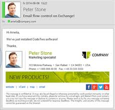 Company Email Signature Email Signature Management In Business Codetwo Software