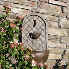 stylish small wall fountains outdoor 17 best ideas about outdoor wall fountains on wall
