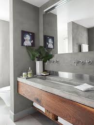 concrete bathroom countertops bathroom vanity