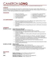 Resume Formatting Examples by Industry