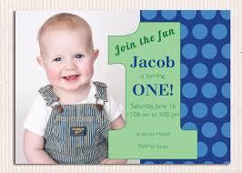 baby boy 1st birthday invitation templates free