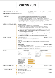 Student Resumes Template Resume Examples By Real People University Student Resume