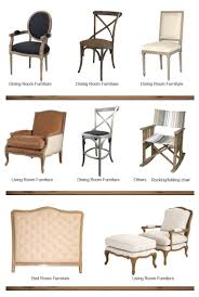 French Style Dining Room Furniture French Style Wooden Chair With Buttons Fabric Dining Room