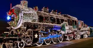 The Denton FarmPark Horse Train | Country Christmas Train