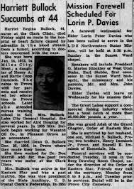 Harriet's obituary - Newspapers.com