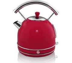 swan retro sk34021rn traditional kettle red red