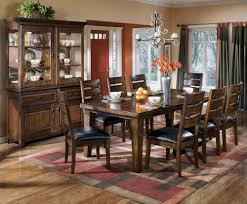 Dining Room Set With China Cabinet Larchmont 442 By Signature Design By Ashley Del Sol Furniture