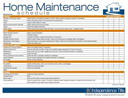 Home Maintenance Schedule Home Pinterest