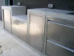 stainless steel outdoor kitchen doors nice cabinet storage metal cabin