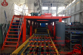 chuangxin precast concrete wall panel making machine lightweight wall panel ion line equipment
