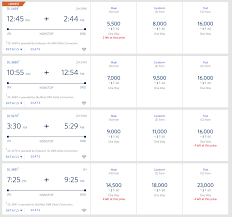 Delta Skymiles Chart How To Redeem Miles With The Delta Air Lines Skymiles Program