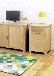 aston solid oak hidden. Aston Oak Two Drawer Filing Cabinet Solid Hidden