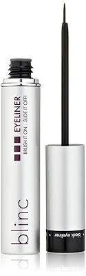 liquid eyeliner brush. blinc liquid eyeliner, black eyeliner brush i