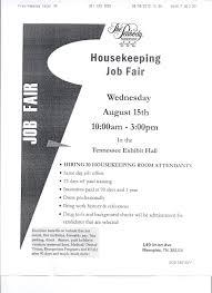 Job Housekeeping Job Description Resume