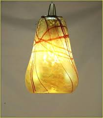 hand blown glass lamp shade shades lamps art best pendant light home design ideas 6