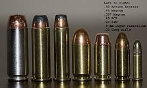 List Of Handgun Cartridges Wikipedia