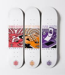 Artist Designed Skateboards Element X Elna Skateboards Skateboard Deck Art Skateboard