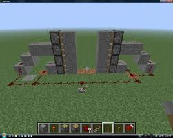 Castle gate Redstone Discussion and Mechanisms Minecraft Java