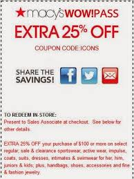 Use These New Macy s Coupons July