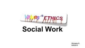 Social Work Values Social Work Values Ethics Youtube