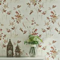 american rustic floral wallpapers home decor plum blossom flower 3d non woven roll decorative for bedroom walls