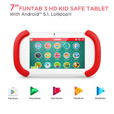 ematic 7 funtab 3 touchscreen tablet pc with android 5 1 lollipop operating system