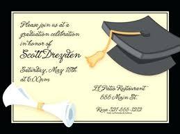 Free Template For Graduation Invitation Graduation Invitation Design Cafe322 Com