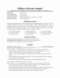 Military To Civilian Resume Examples Best Military Resume Examples For Civilian Stunning Military To Civilian
