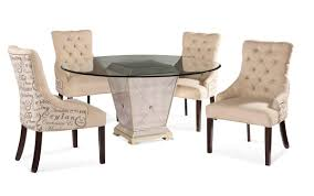 bassett mirror dining table. Borghese Round Dining Set With Script Chairs (Antique Mirror \u0026 Silver Leaf Finish) - [8311-000-AAA] Bassett Table A