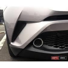 Toyota C-HR <b>накладки</b> хром на <b>передние противотуманные</b> ...
