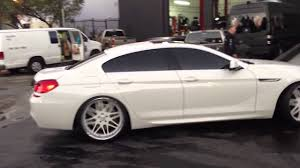 Sport Series 2013 bmw 650i gran coupe : 2013 BMW Gran Coupe on 22s forgiato maglia - YouTube
