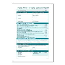 Vaccination Consent Forms - Numark Ordering Online