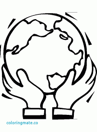 Save The Earth Coloring Pages To Download Jokingartcom Save The