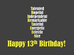 Funny Quotes About Turning 13
