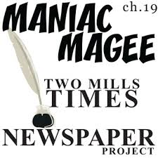 maniac magee two mills times newspaper design activity times  maniac magee two mills times newspaper design activity