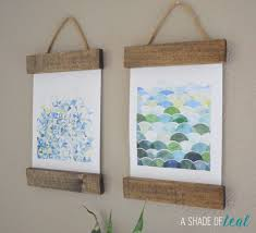Diy Art Remodelaholic 6 Easy Diy Art Projects August Link Party