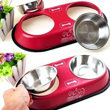 heated water bowls high quality dual design stainless steel dog bowl heat . Heated Water Bowls Thermal Bowl