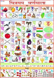 Swar Vyanjan Chart Amazon In Buy Alphabet Hindi Chart 70 X 100 Cm Book